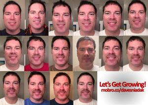 Let's Get Growing. The first 2.5 weeks of Movember. | Copyright HDHubby.com
